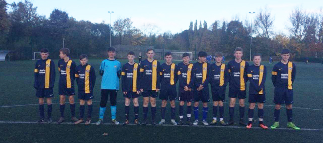 Hardy Access Services sponsor Briercliffe Rovers under 16's.