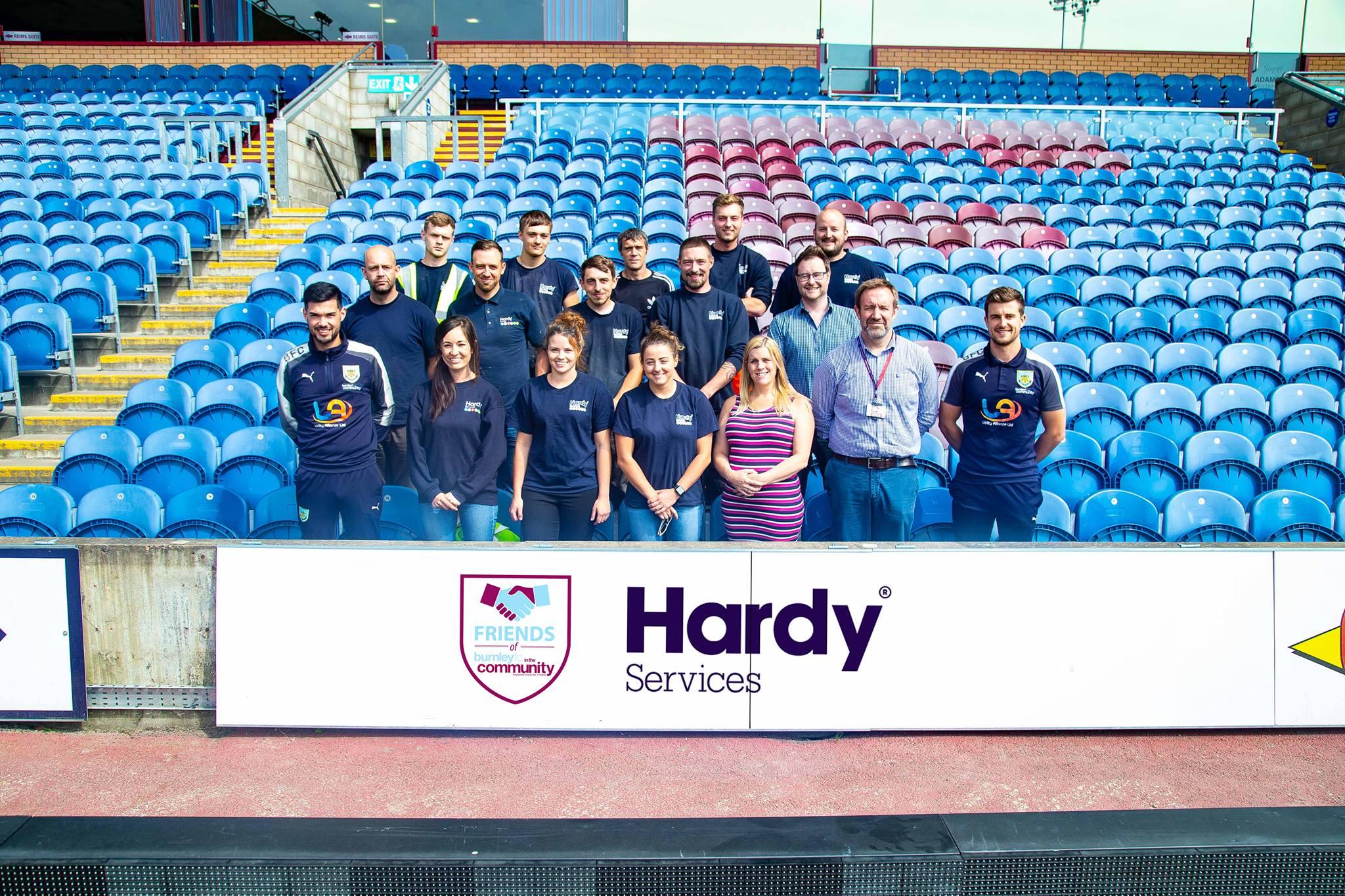 Clarets Sign Hardys